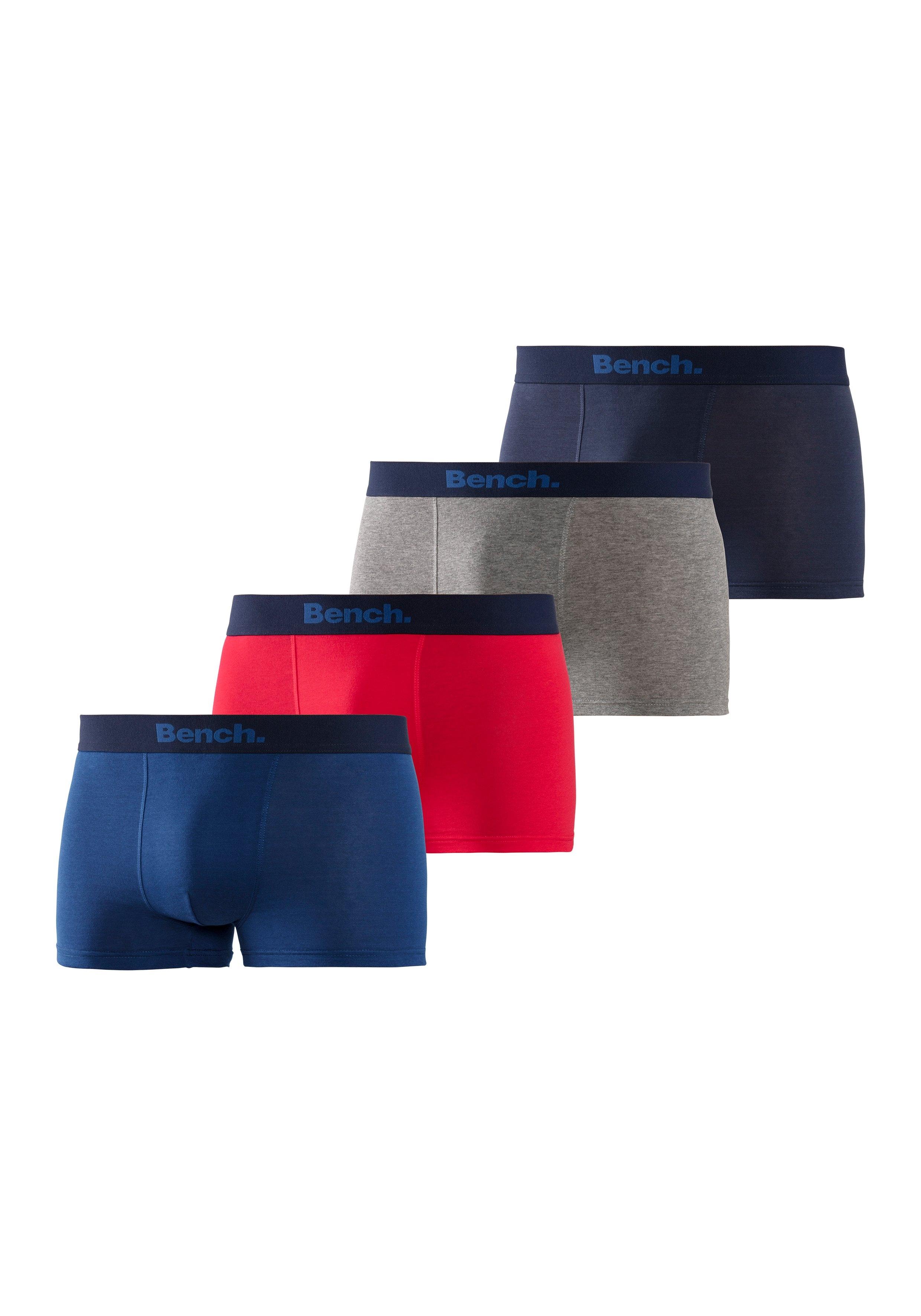Bench. Boxershort met modieuze strepen (4 stuks) voordelig en veilig online kopen
