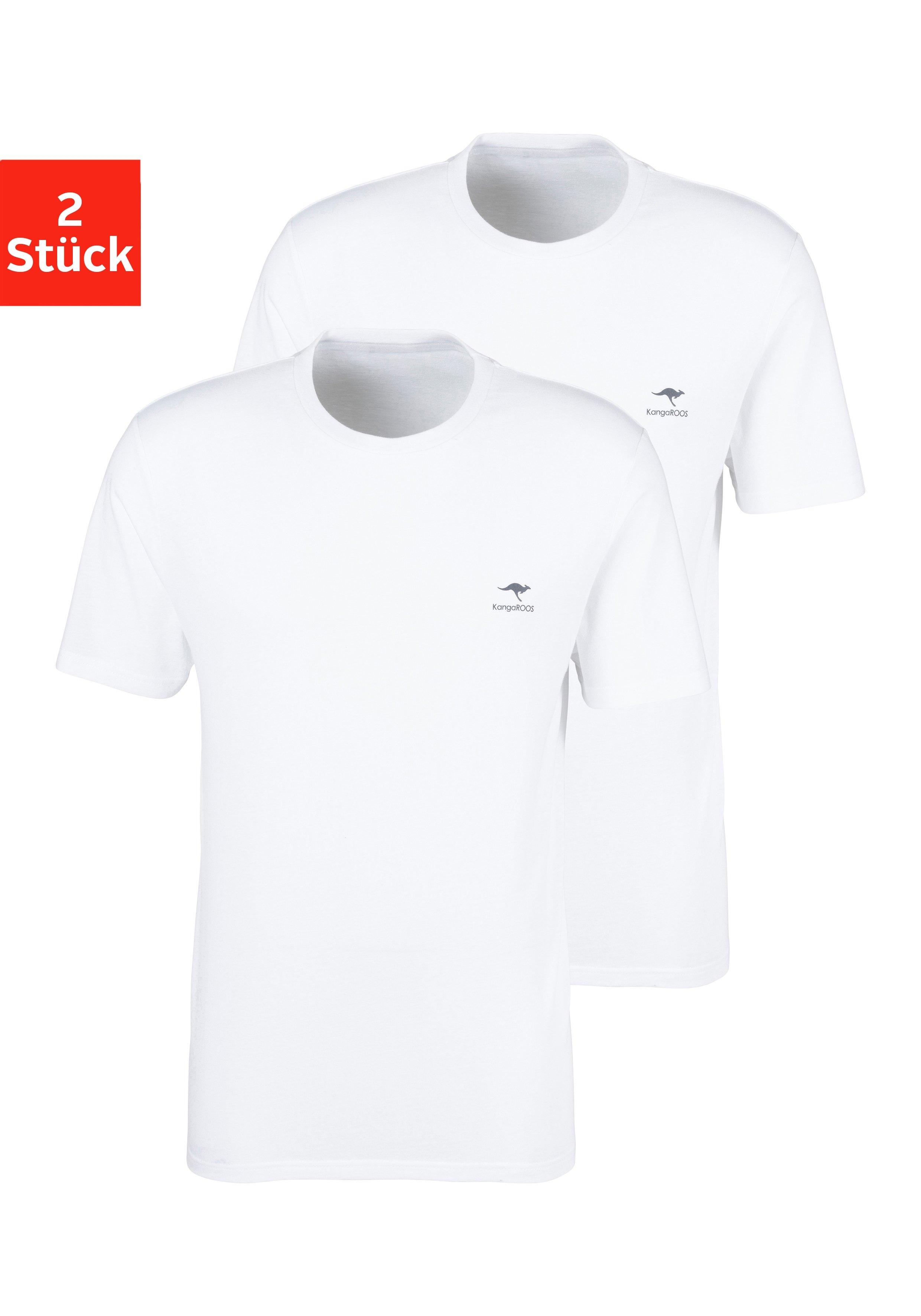 KangaROOS T-shirt (Set van 2) voordelig en veilig online kopen