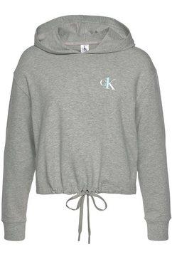 calvin klein hoodie grijs
