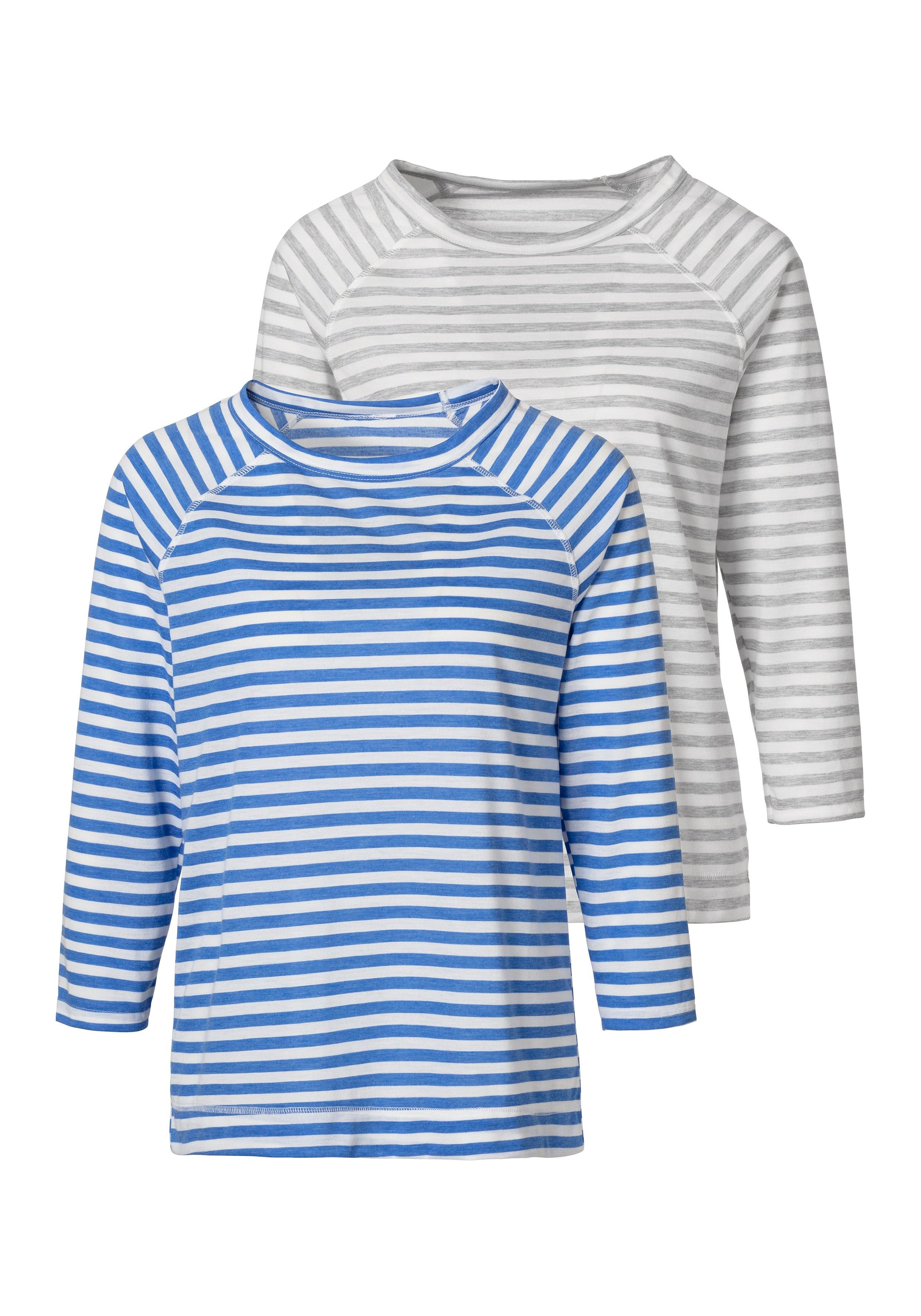 H.I.S shirt met 3/4-mouwen (Set van 2) nu online bestellen