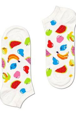 happy socks sneakersokken fruit met kleurrijke fruitmotieven multicolor