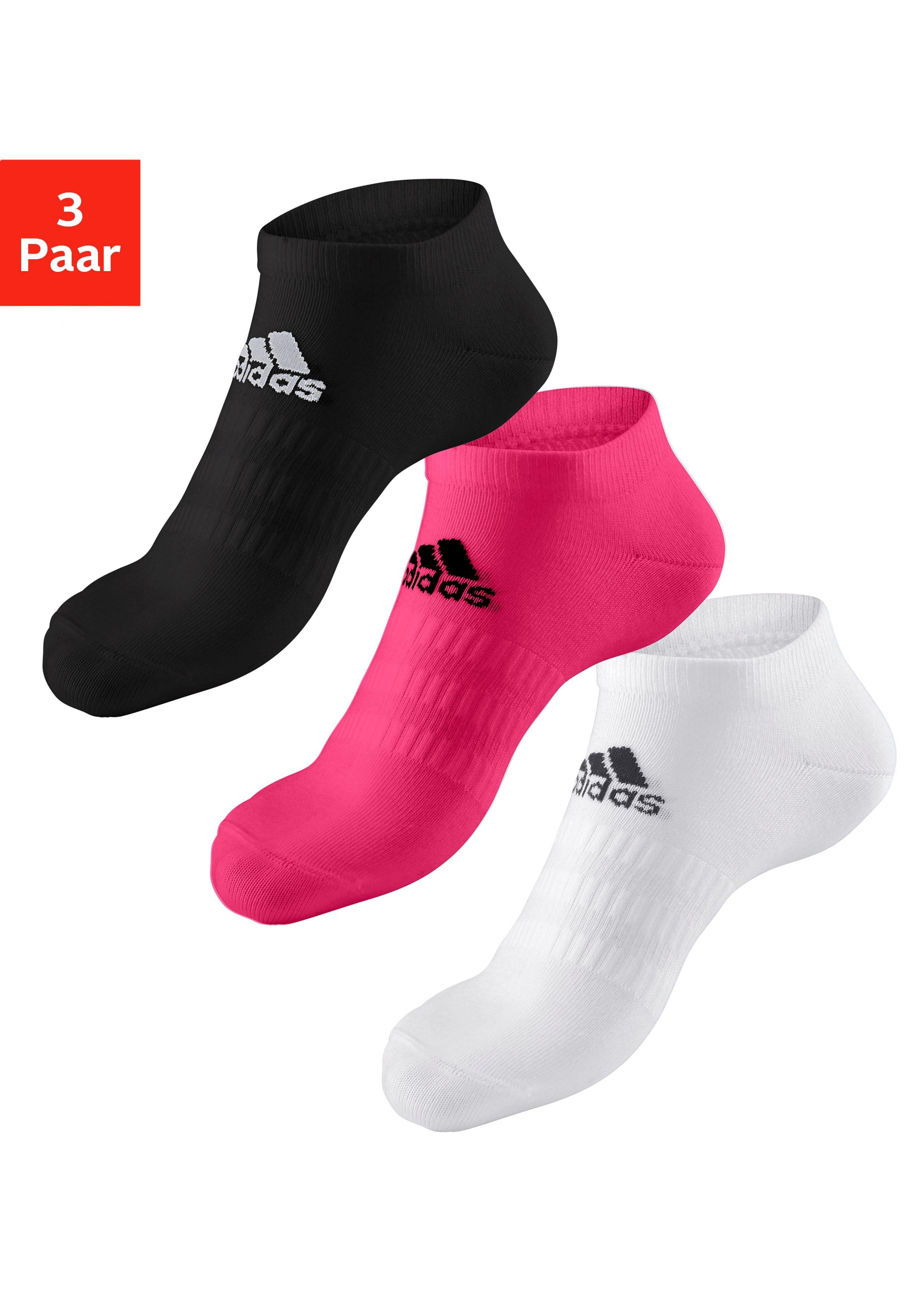 adidas Performance sneakersokken PERFORMANCE met klassiek logo-opschrift (3 paar) goedkoop op lascana.nl kopen