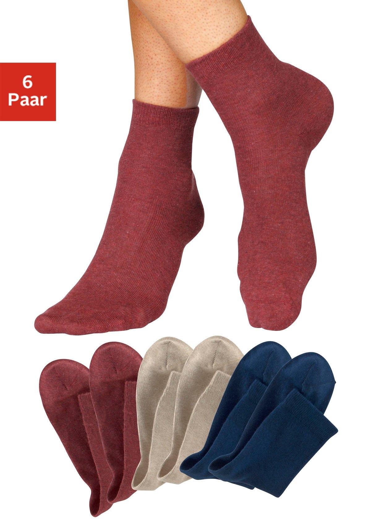 H.I.S sokken (6 paar) goedkoop op lascana.nl kopen