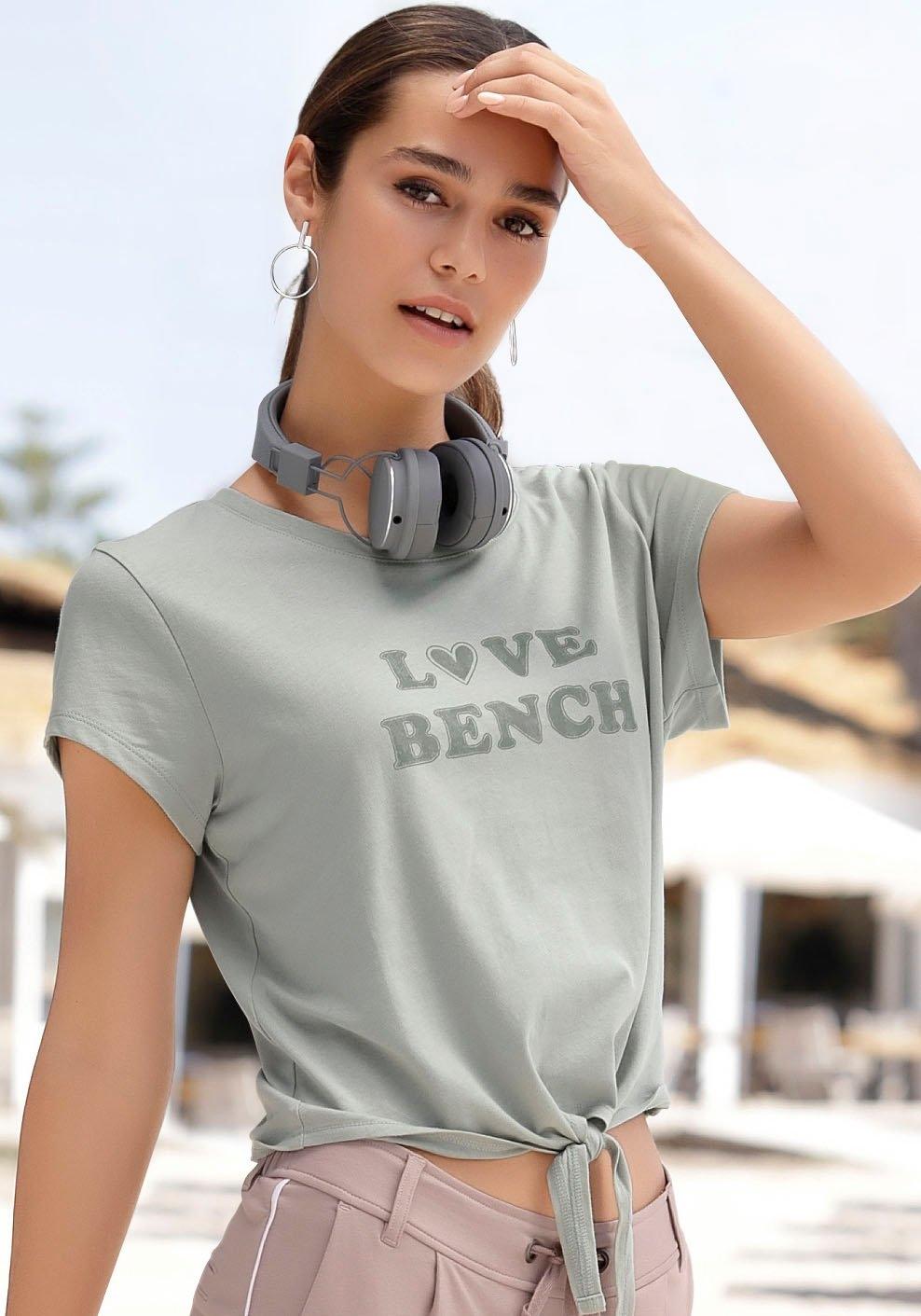 Bench. shirt met korte mouwen met frontprint bestellen: 30 dagen bedenktijd