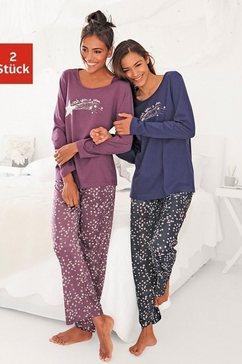 vivance dreams pyjama in set van 2 multicolor