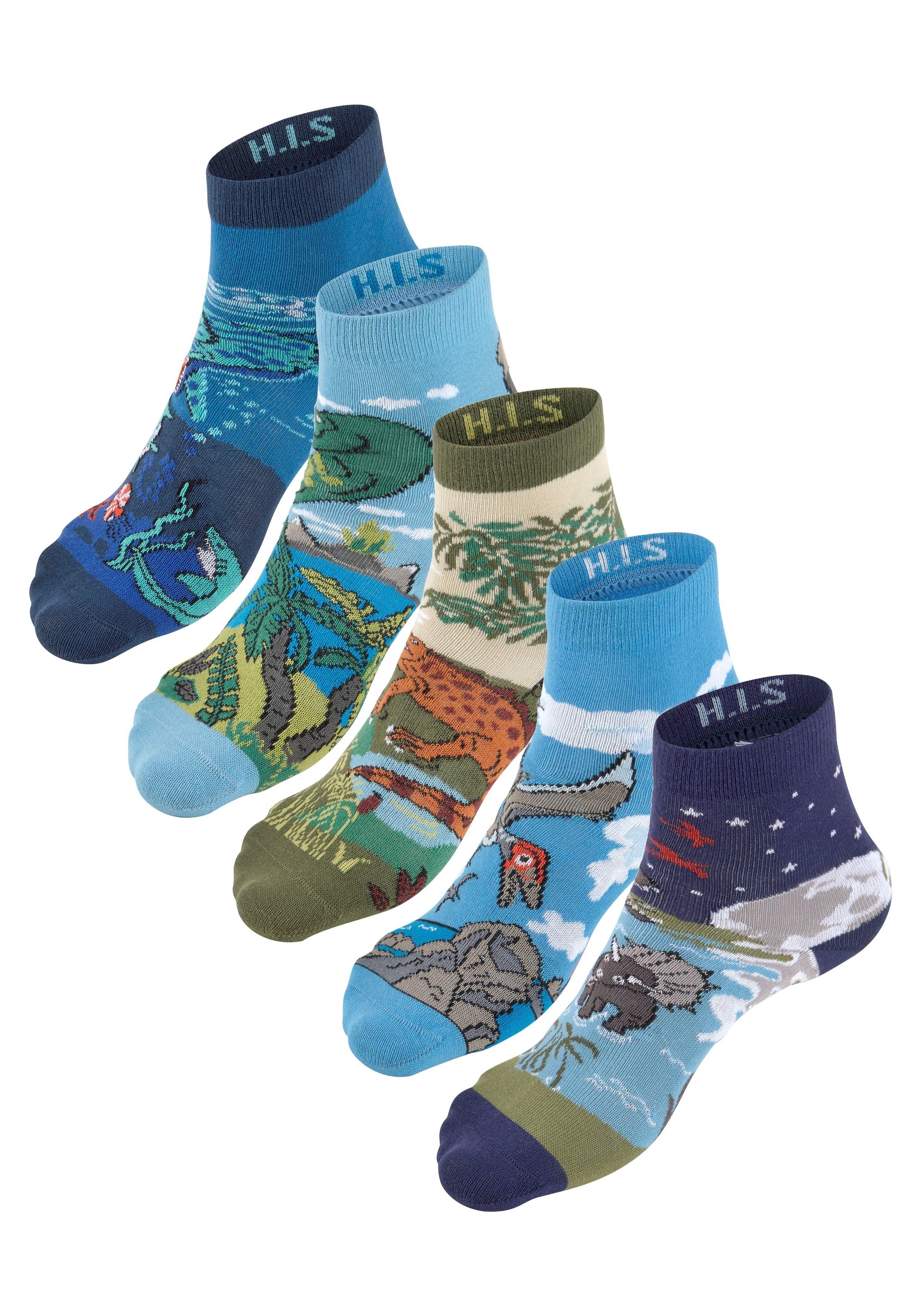 H.I.S sokken (5 paar) online kopen op lascana.nl