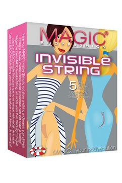 magic bodyfashion string »invisible string« beige