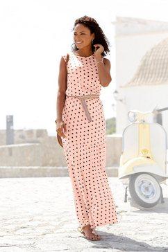 lascana maxi-jurk roze