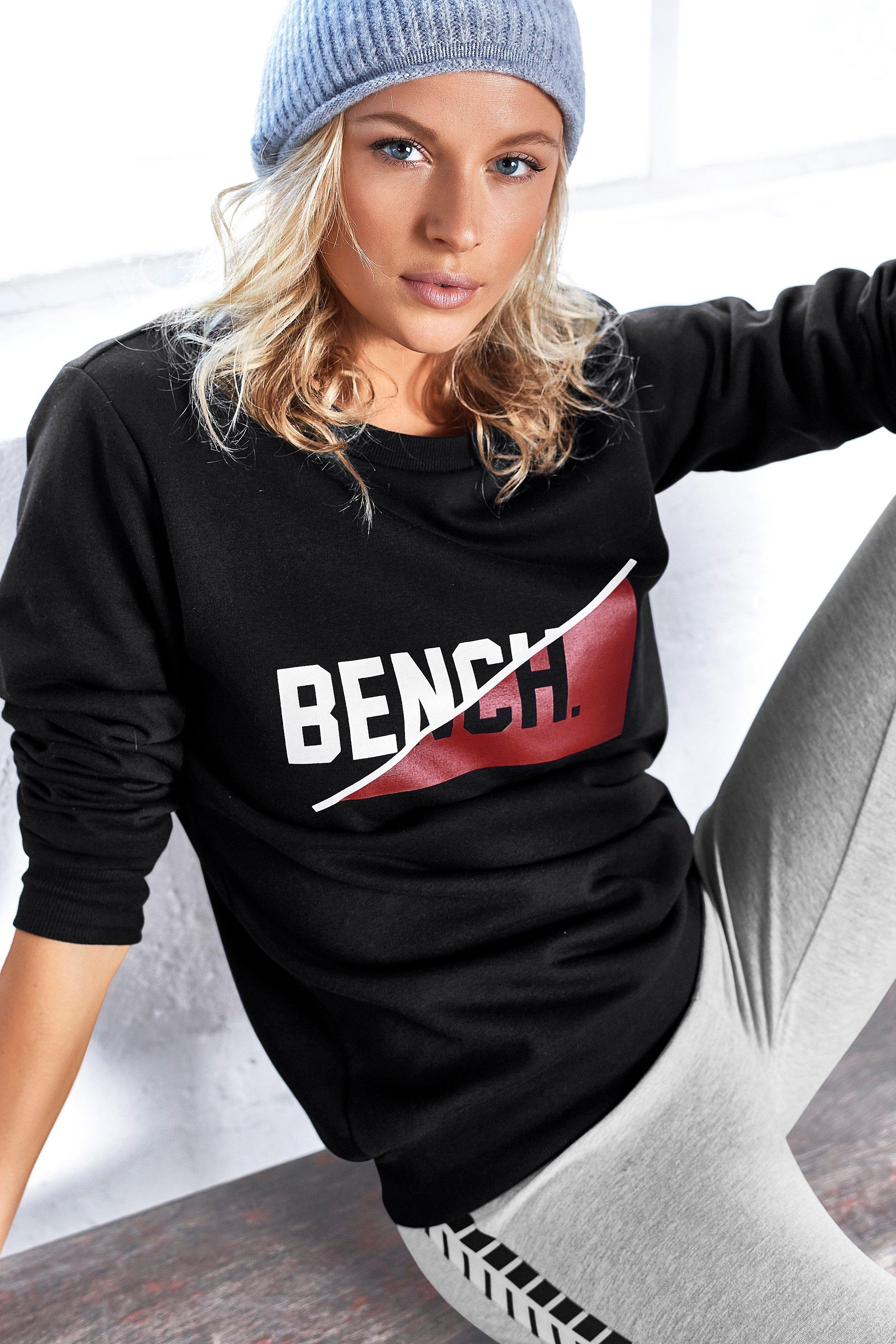 Bench. sweatshirt met frontale logoprint online kopen op lascana.nl