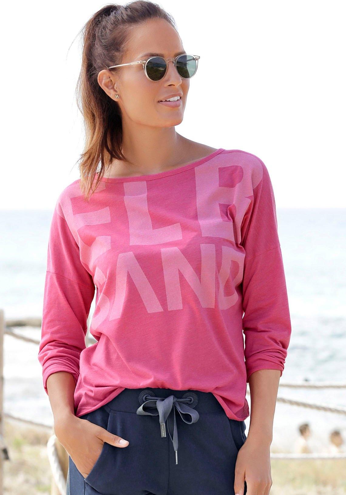 Elbsand Shirt met lange mouwen Niola met grote frontprint - verschillende betaalmethodes