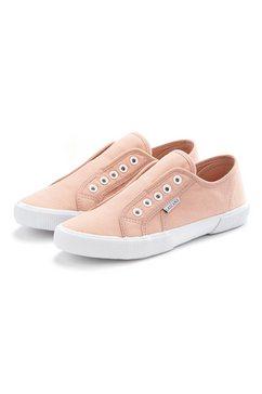 lascana sneakers slip in comfortabel om zo aan te schieten roze