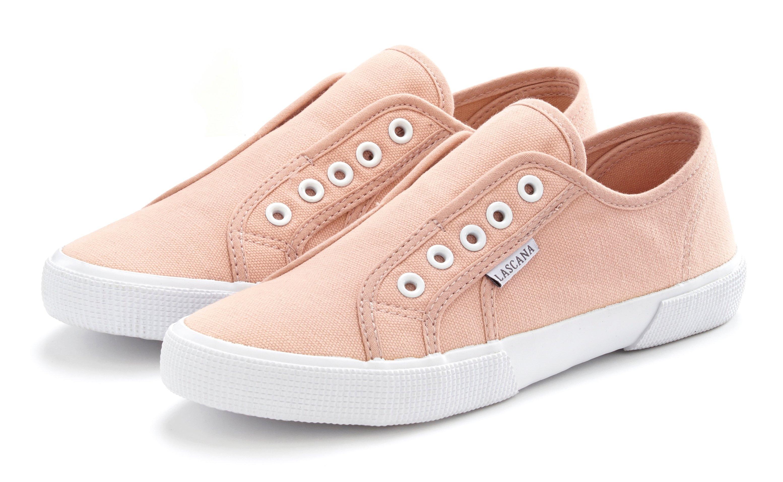 Op zoek naar een Lascana sneakers Slip in comfortabel om zo aan te schieten? Koop online bij Lascana
