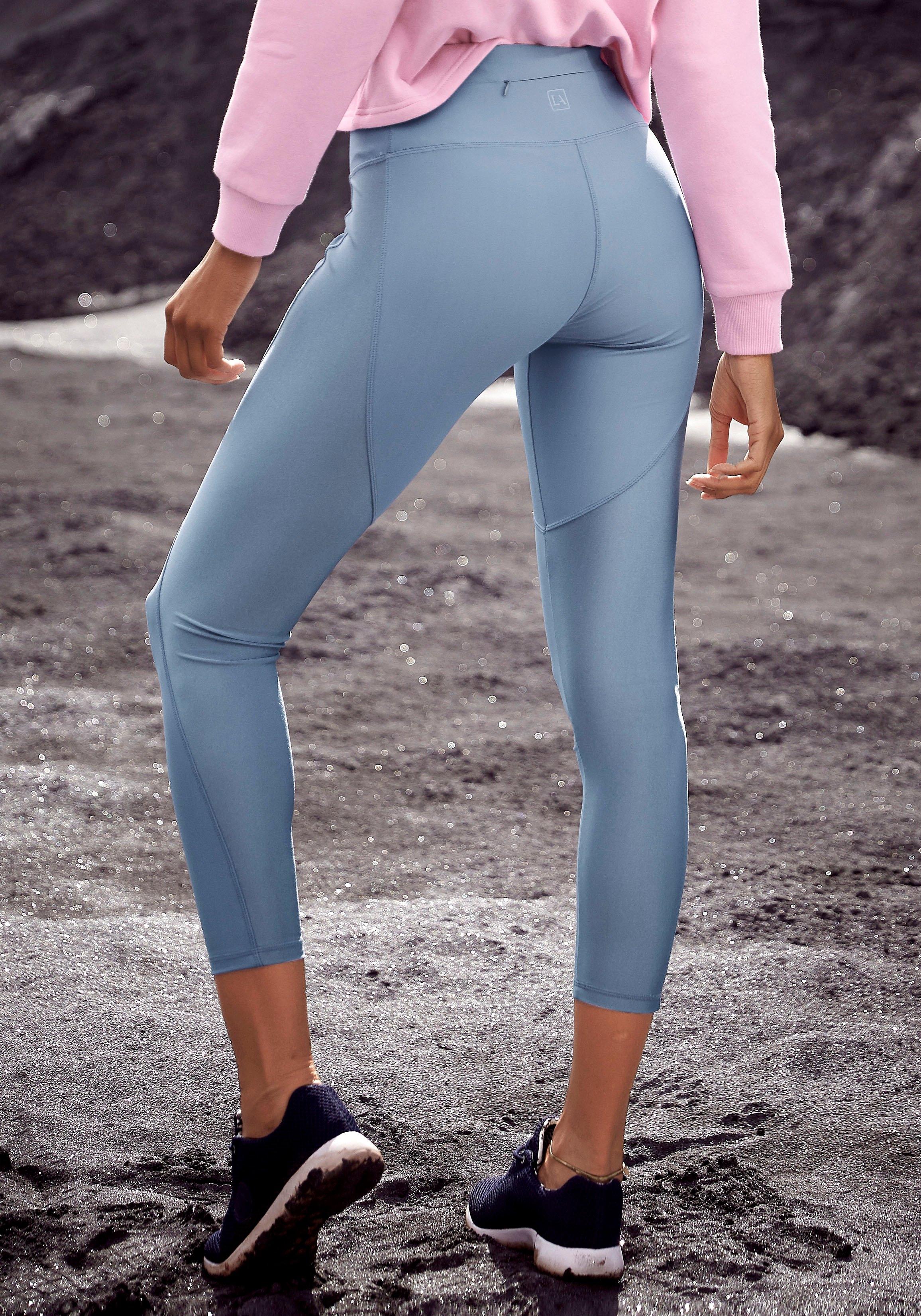 active by Lascana legging met deelnaden voordelig en veilig online kopen