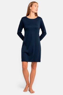 seidensticker nachthemd blauw