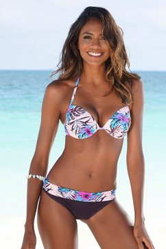 venice beach bikinibroekje marly met omslagband paars