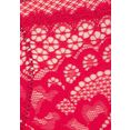 s.oliver red label beachwear push-up-bh ophelie van fijne kant rood
