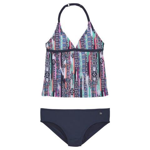 s.Oliver RED LABEL Beachwear tankini met gedetailleerde print