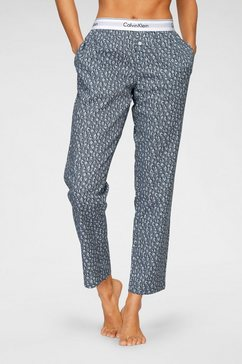 calvin klein pyjamabroek met print all-over grijs