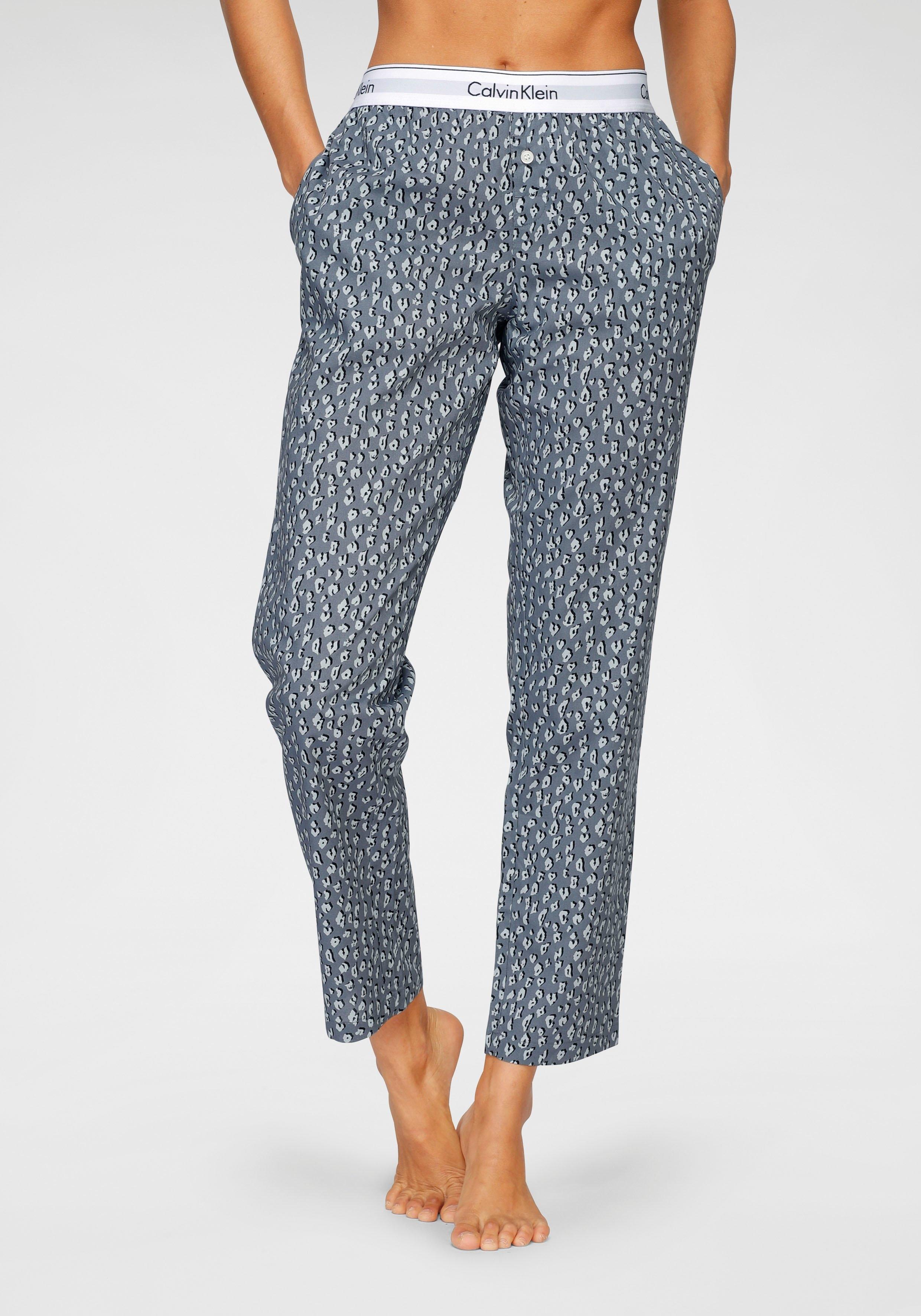 Calvin Klein Pyjamabroek met print all-over nu online kopen bij Lascana