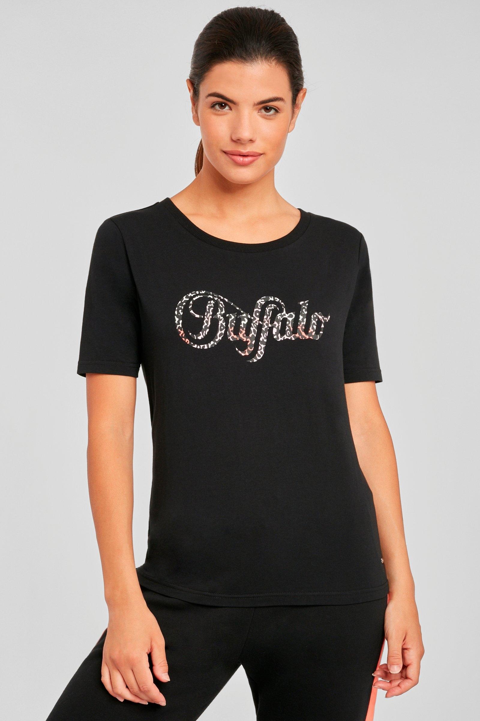 Buffalo T-shirt met logoprint nu online bestellen