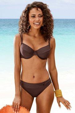 s.oliver beachwear bikinitop met beugels »rome« bruin