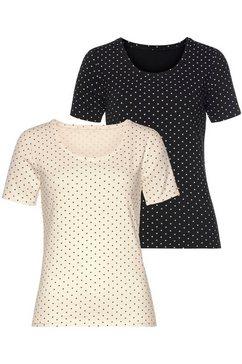 vivance t-shirt (set van 2) wit