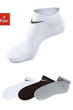 nike sneakersokken met middenvoetelastiek (3 paar) grijs