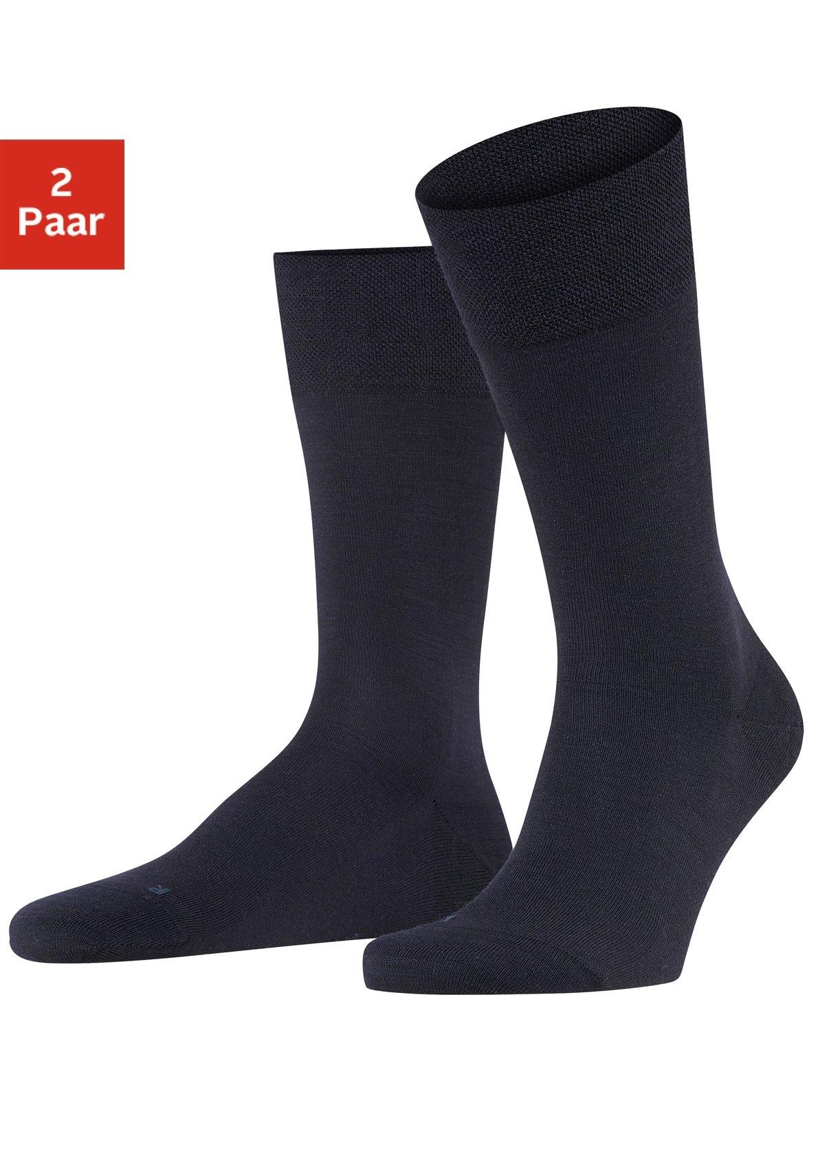 FALKE sokken Berlin met sensitive-boorden zonder elastiek (2 paar) goedkoop op lascana.nl kopen