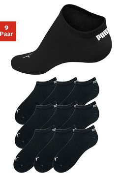 puma sneakersokken in klassiek model (9 paar) zwart
