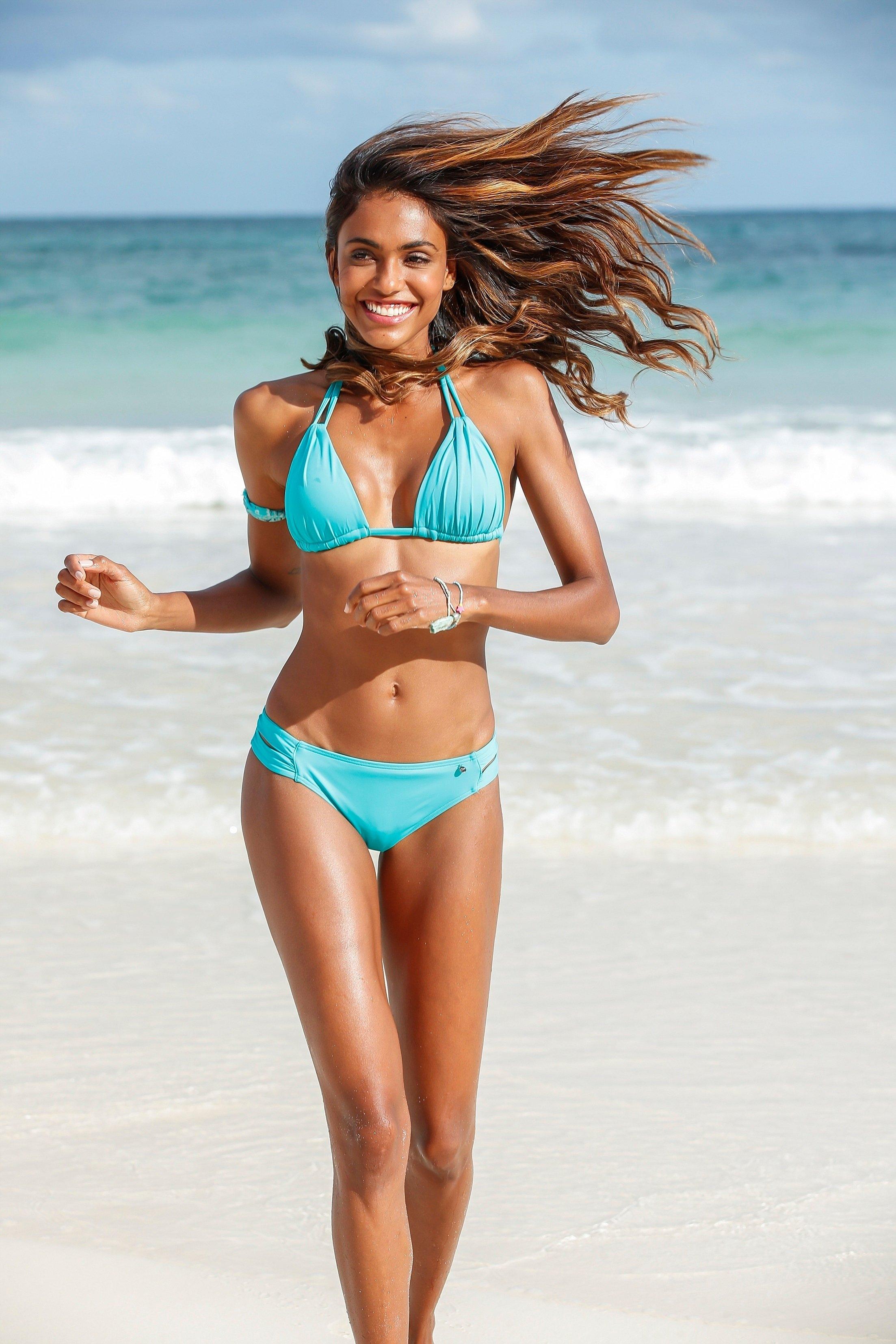 s.Oliver RED LABEL Beachwear bikinibroekje Spain met aangerimpelde zijbandjes goedkoop op lascana.nl kopen