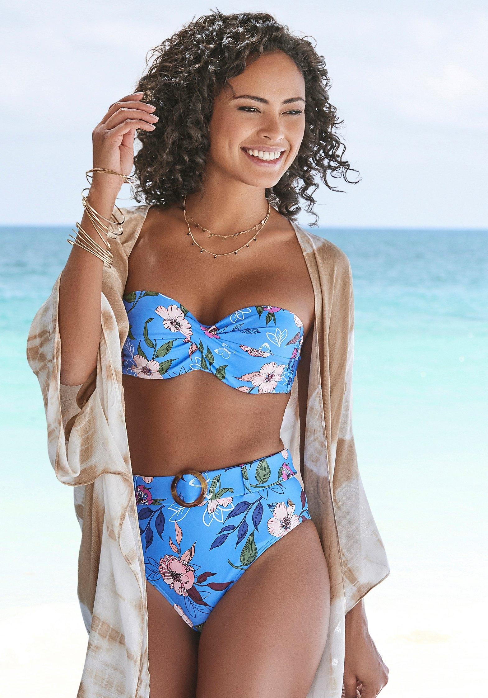 s.Oliver RED LABEL Beachwear highwaist-bikinibroekje Maya - verschillende betaalmethodes