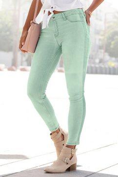 buffalo skinny fit-jeans groen