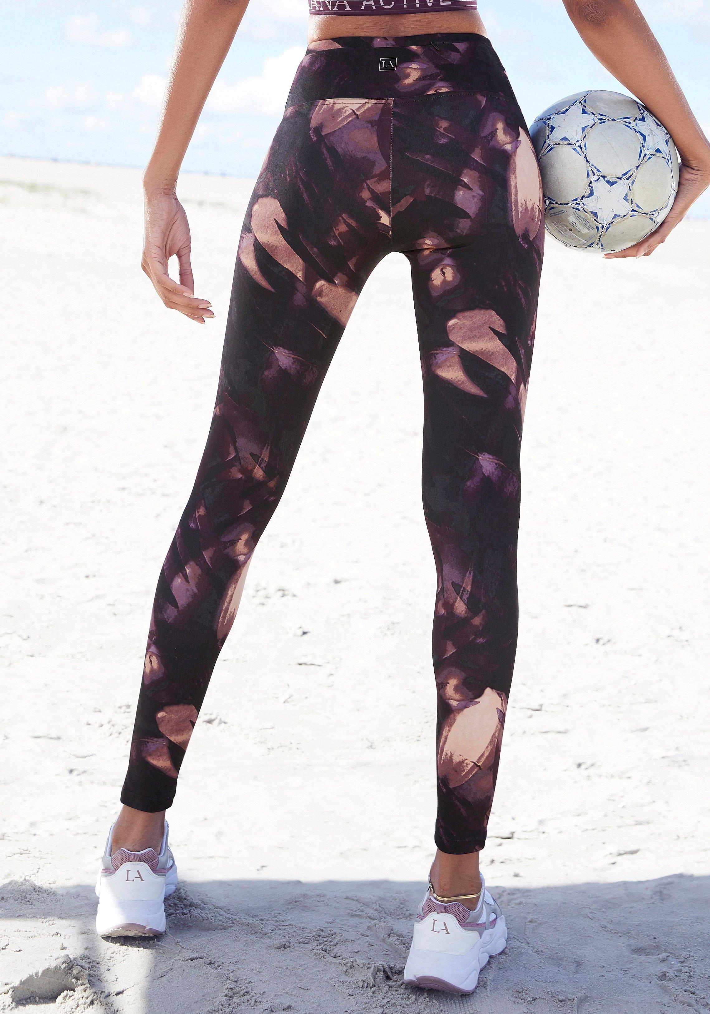 active by Lascana legging met print all-over voordelig en veilig online kopen