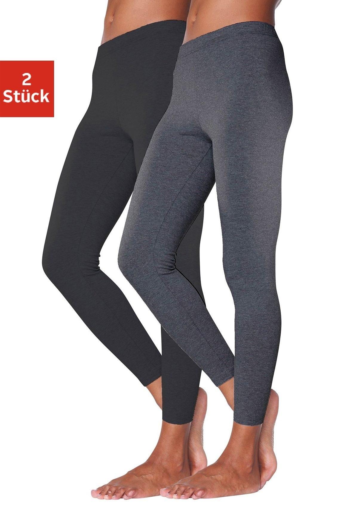 vivance active Basic legging in set van 2, VIVANCE voordelig en veilig online kopen